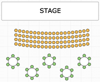 Design Your Fully-customizable Seating Chart